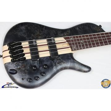 Custom Ibanez SRSC805 Workshop 5-String Bass, Deep Twilight Flat, NEW! #34753-1