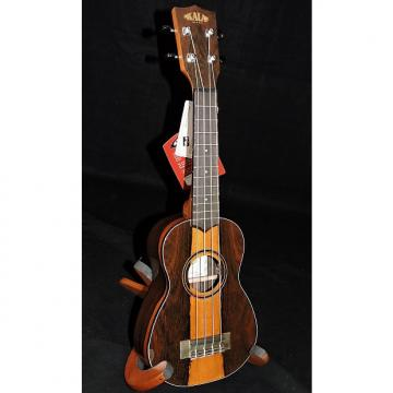 Custom Kala KA-ZCT-S Ziricote with Sapwood Accent Soprano Ukulele