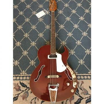 Custom Vox Apollo Bass 1960's See-Thru Cherry