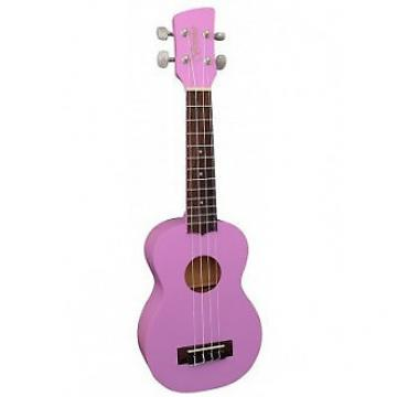 Custom Brunswick BU1S Ukulele Purple