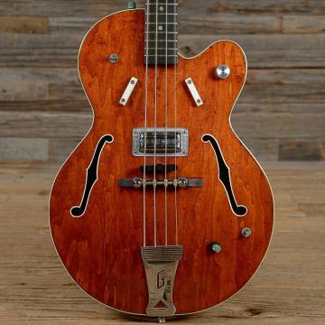 Custom Gretsch 6071 Hollow Body Bass Burgundy 1968 (s666)
