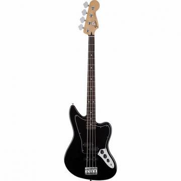 Custom Fender Standard Jaguar Bass Black