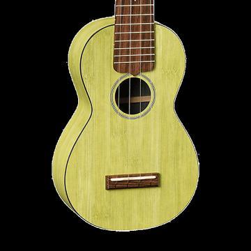 Custom Martin OXUKE Bamboo Soprano Ukulele - Green with Gig Bag
