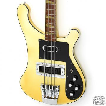 Custom 1979 Rickenbacker 4001 Bass White