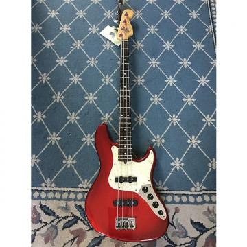 Custom Fender Jazz Bass Deluxe 1997 Crimson Burst