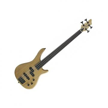 Custom Stagg Fretless 4-String Fusion Bass Guitar