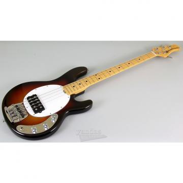 "Custom Ernie Ball Music Man 40th Anniversary Stingray ""Old Smoothie"" - Chocolate Burst"