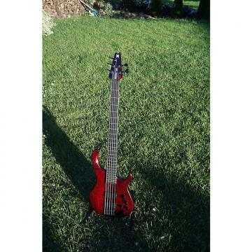 Custom Modulus TBX (neck Through Quantum) 1991 Transparent Red