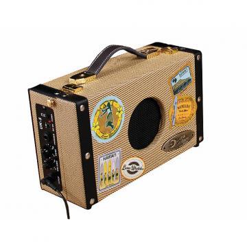 Custom LUNA Uke Suitcase Amp w/Battery and AC Adapt