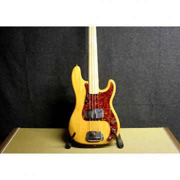 Custom Fender Precision Bass 75/77 natural