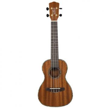 Custom Lulu T1A Tenor Ukulele Solid Mahogany, W/ Hard Shell Case