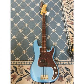 Custom Univox P-Bass 1960's Lake Placid Blue