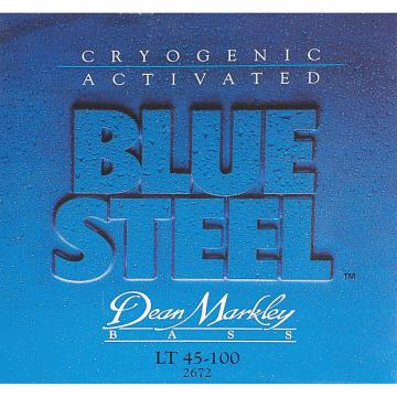 Custom Dean Markley Blue Steel Electric Bass Strings, 45-100, 2672, Light
