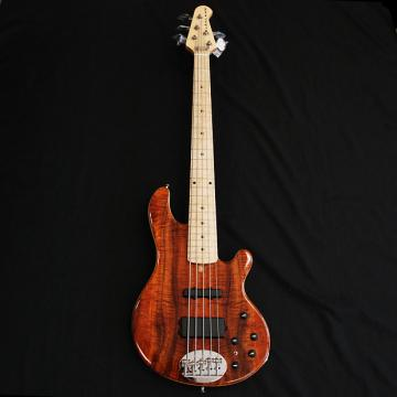 Custom Lakland  USA 55-94 Custom Deluxe AAA Koa 5 String Bass
