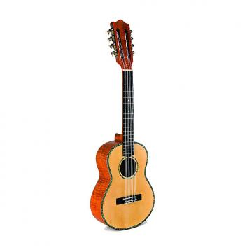 Custom Lanikai The Legacy Collection SOT-8 Solid Spruce Top 8 String Tenor Ukulele