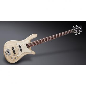 Custom Warwick WGPS Streamer CV 4 Natural Satin, Passive, Chrome, Ash Body, Authorized Dealer, Free Shipping