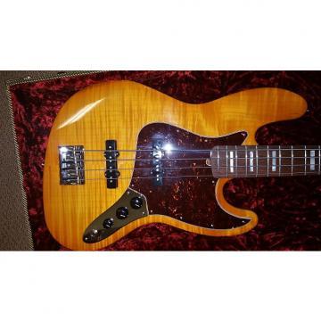 Custom Fender Jazz Fender Select Jazz Bass Amber Burst