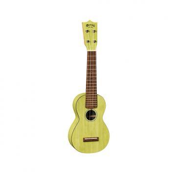 Custom Martin 0X Uke Bamboo Soprano Ukulele with Gigbag - Green