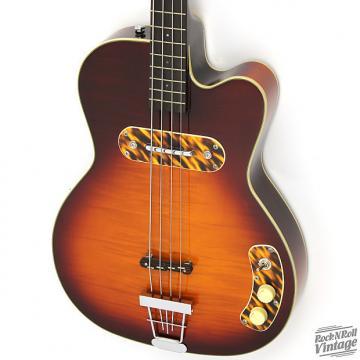 Custom Kay Reissue Pro Bass Honey Sunburst