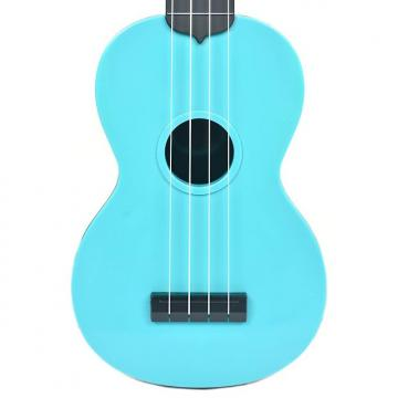 Custom Makala Waterman Composite Soprano Ukulele Solid Blue