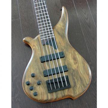 Custom TUNE Hatsun TWB53LF OB - Left Handed 5 String  Bass - Ovangkol Wood Top - Black Hardware - NEW