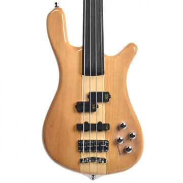 Custom Warwick Rockbass Streamer Basic 4-String Fretless Active Natural High Polish