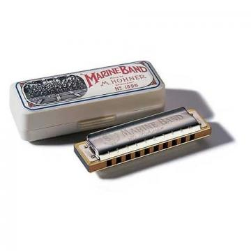 Custom Hohner 1896 Marine Band Harmonica - G Key