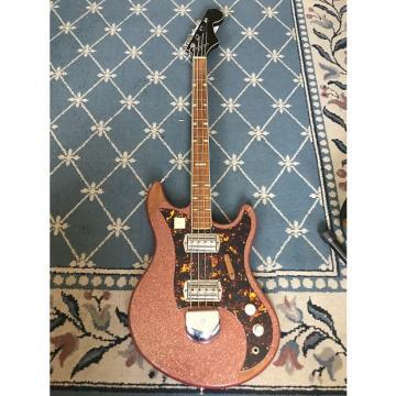 Custom Norma Sparkle Bass 1960's Red Sparkle
