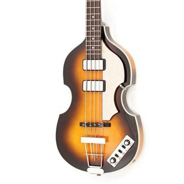 Custom Hofner HCT Violin Cavern Bass Sunburst