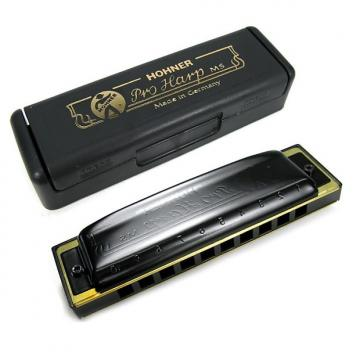 Custom Hohner 562 Pro Harp MS-Series Harmonica - E Key