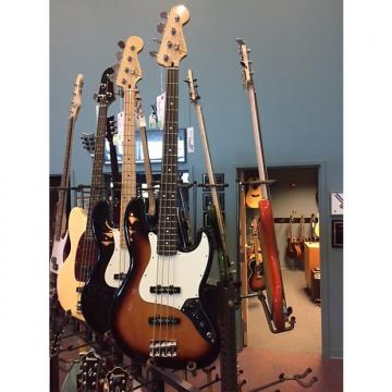Custom Fender Standard Jazz Bass [DISPLAY MODEL] Electric Bass with Single-Coil Pickups in Brown Sunburst