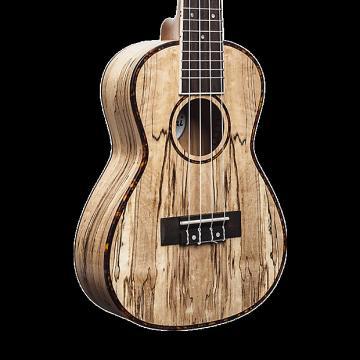 Custom Amahi UK770C Classic Spalted Maple Ukulele - Concert with Gig Bag