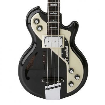 Custom Italia Mondial Classic Bass Black / Cream Res-o-Glass top