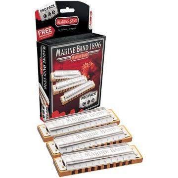 Custom Hohner Marine Band Pro Pack Harmonica Set