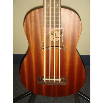 Custom Eddy Finn EF-EBass-FL Fretless Bass Ukulele