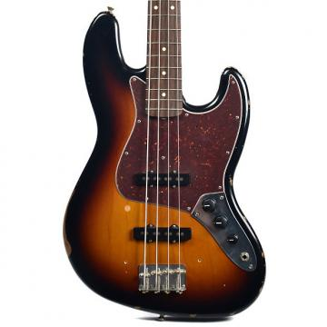 Custom Fender Road Worn 50's Jazz Bass RW 3 Color Sunburst