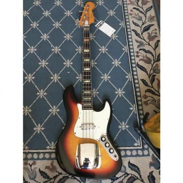 Custom Global J-Bass Copy 1970's Sunburst
