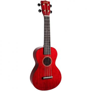 Custom Mahalo Hano Wine Red Concert Ukulele