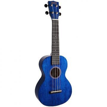 Custom Mahalo Hano Blue Concert Ukulele