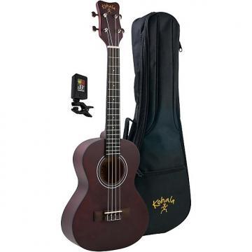 Custom Kohala Kine'O KPP-T Tenor Ukulele Player Pack with Gig Bag and Tuner