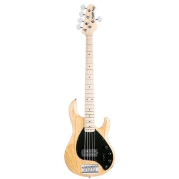 Custom Sterling by Music Man Ray35 5-String Electric Bass Guitar - Natural