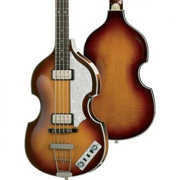 Custom Hofner HCT Violin Bass 2 Color Sunburst