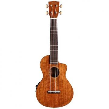 Custom Mahalo Hano Elite Cutaway Acoustic-Electric Concert Ukulele