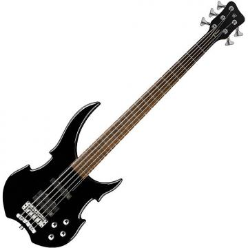 Custom Warwick Rockbass Vampyre 5-String Bass - Black HP