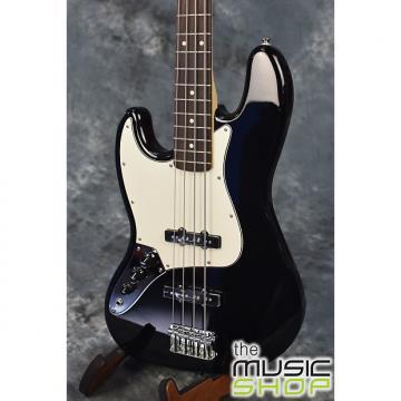 Custom Fender Standard Jazz Bass Left Handed 2015 Black - Serial # MX15654069