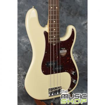 Custom Fender American Standard Precision Bass Olympic White with Hard Case - Serial # US15068988