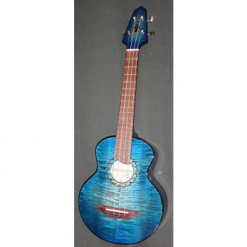 Custom Rick Turner Compass Rose Blue Lagoon Tenor Ukulele