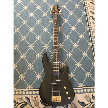 Custom ESP LTD B-50 Bass circa 2012 Matte Black