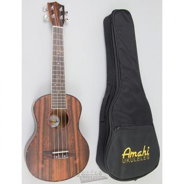 Custom Amahi UK990 Classic Ebony Wood Ukulele - Tenor