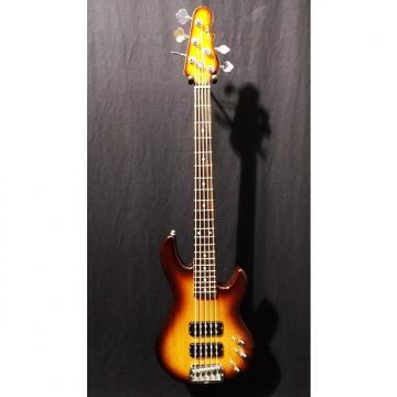 Custom G&L Tribute L2500 Electric Bass Guitar in Tobacco Burst & Gig Bag #2402
